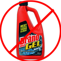 Say no to harsh chemicals