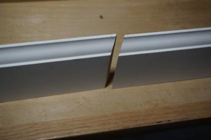 Overlapping trim seam